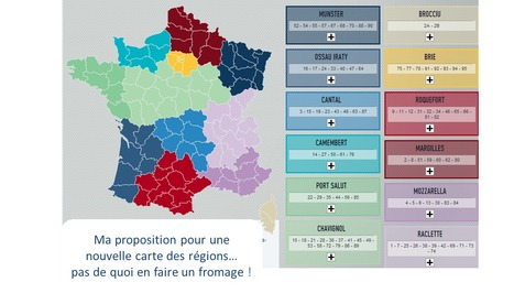 Jouez à composer votre carte des régions | Michel NAHON | Scoop.it