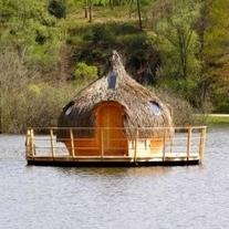 Une cabane flottante pour un week-end insolite : 23-05-2012 – Dkomaison   le cottage landais: en osmose avec la nature   Scoop.it
