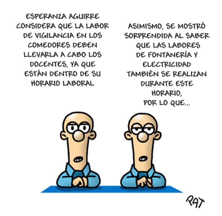 Esperanza Aguirre ataca de nuevo - El Plural | Partido Popular, una visión crítica | Scoop.it