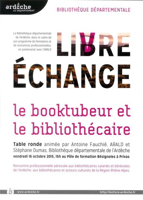 Le booktubeur et le bibliothécaire | Bibliothèques et web social | Scoop.it