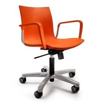 Silla de oficina con ruedas Gimlet Mobles 114 - OcioHogar.com | Muebles de diseño moderno | Scoop.it