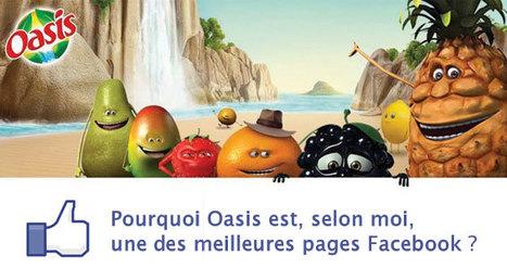 Pourquoi Oasis est la meilleure page Facebook | Comestible.fr - Actualités en communication agroalimentaire par Stellagraphiste | social gaming et e-commerce | Scoop.it