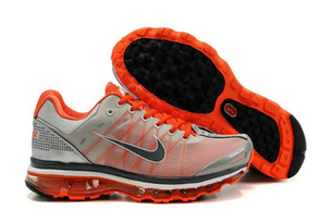 Mens Air Max 2009 Silver Orange White Shoes | popular and new list | Scoop.it