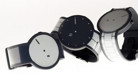 Sony lance une montre entièrement en écran e-ink | e-paper - e-ink - le papier électronique - écran flexible | Scoop.it