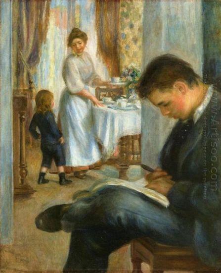 Desayuno en Berneval 1898 - Pintura al óleo | Landscapes oil paintings | Scoop.it