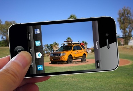 Ford 2012 Escape promoted with augmented reality experience - SlashGear | Psychology of Consumer Behaviour | Scoop.it