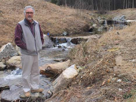 Stream restoration project pays homage to Laurel Park history - BlueRidgeNow.com | Fish Habitat | Scoop.it
