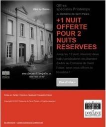 Inscription newsletter Domaine de Saint Palais | Actualité du Domaine de Saint Palais | Scoop.it