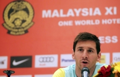 Fans slam arrogant Messi, call Barca tour forgettable - The Malay Mail Online | Malaysian Youth Scene | Scoop.it