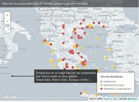 Mapa inquietante de Grecia: un País en Venta | LO + VISTO en la WEB | Scoop.it