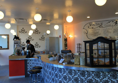 A Lady in Boston: Voltage Coffee & Art | Discovering Boston | Scoop.it