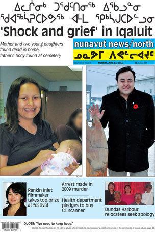 Headlines for @NNSLOnline #Nunavut News North for June 13th 2011   Inuit Nunangat Stories   Scoop.it