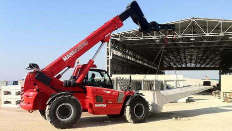 ConExpo : Manitou dévoile ses nouveaux chariots télescopiques | Materiels Equipement Construction | Scoop.it