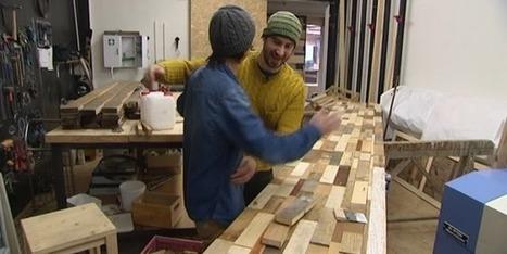 [cas pratique] Wood Stock Création fait du recyclage des déchets... un Art | Circuits courts de production innovante en collaboration ouverte | Scoop.it