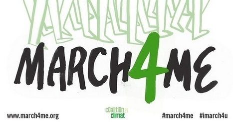 Nous ne pourrons pas marcher pour le climat : faites-le pour nous !   Shabba's news   Scoop.it