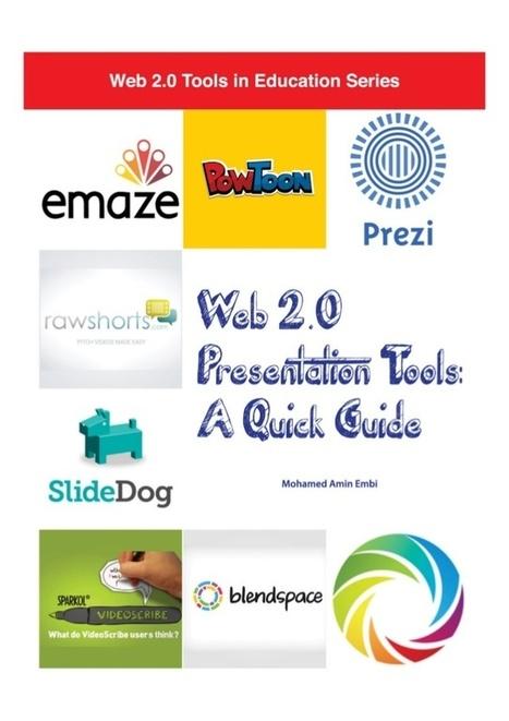 Web 2.0 Presentation Tools: A Quick Guide | Herramientas Web 2.0 para docentes | Scoop.it