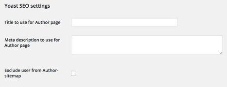4 consigli per migliorare la pagina autore di Wordpress | ToxNetLab's Blog | Scoop.it