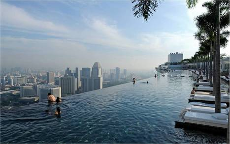 "Singapore: Infinite pool at the Marina Sand | ""Cameras, Camcorders, Pictures, HDR, Gadgets, Films, Movies, Landscapes"" 