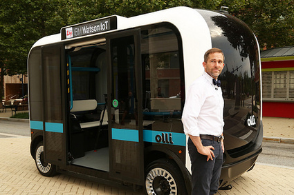 Local Motors Debuts Self-driving Vehicle With IBM Watson | It Used to be Science Fiction | Scoop.it