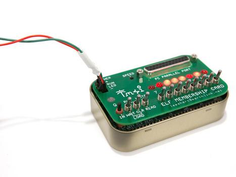 Move Over, Arduino: Here Comes the Cosmac Elf - IEEE Spectrum | Robotika para el aula | Scoop.it