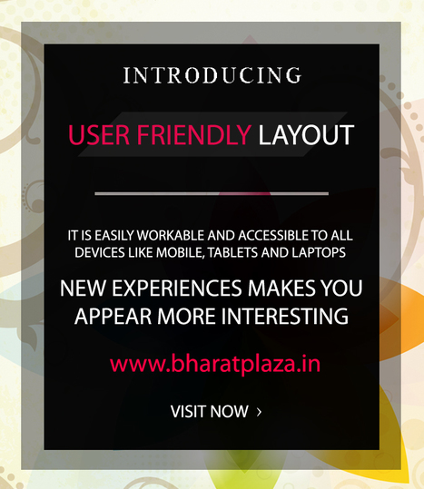 Users! We are Introducing a #New version of our #Website http://www.bharatplaza.in Please give suggestions and share your experience wish us | Online Shopping India | Scoop.it