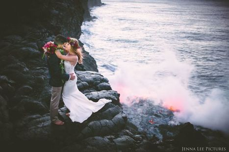 Photographer Spearheads Daring Wedding Shoot on Active Volcano | KTC Hawaiian - Kapo Trading Company | Hawaii | Scoop.it
