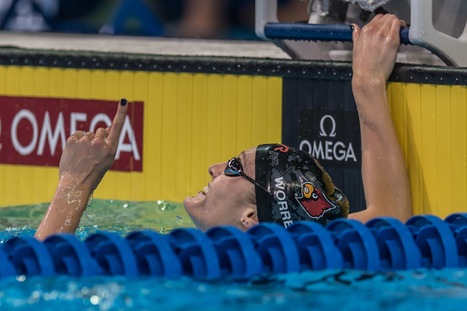 Kelsi Worrell and Dana Vollmer Punch Tickets to Rio in 100 Fly | Competitive swimming | Scoop.it