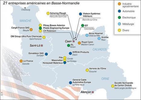 Ces entreprises américaines installées en Basse-Normandie - Ouest France Entreprises | CRITT Transport et Logistique en Haute Normandie | Scoop.it