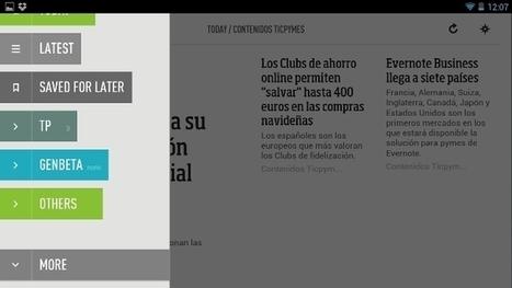 Cinco aplicaciones para administrar y leer tus RSS cómodamente desde tablets | Cajón de sastre Web 2.0 | Scoop.it