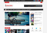 EffectiveNews, WordPress Clean Magazine Portal Theme | WP Download | newsportal | Scoop.it