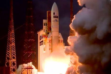 Record égalé pour Ariane 5 avec 74 lancements consécutifs réussis | Space business and exploration | Scoop.it