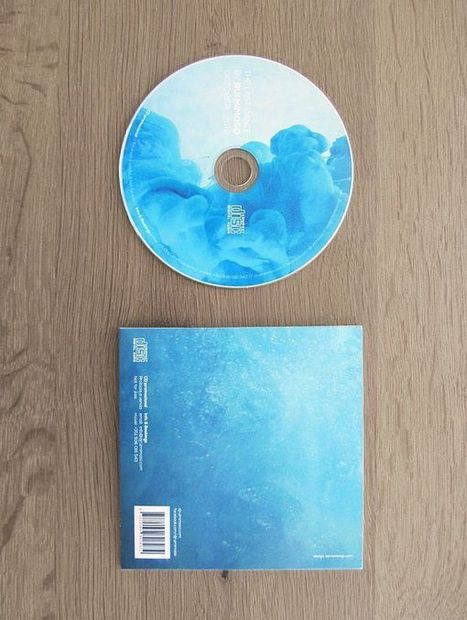 Beautiful blue design for CD & DVD Cover   Sticker Printing Service Florida   Scoop.it