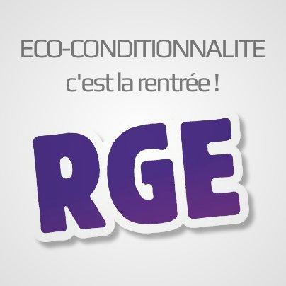 Eco-conditionnalité, la difficile rentrée RGE ! | Evaluation de la conformité | Scoop.it