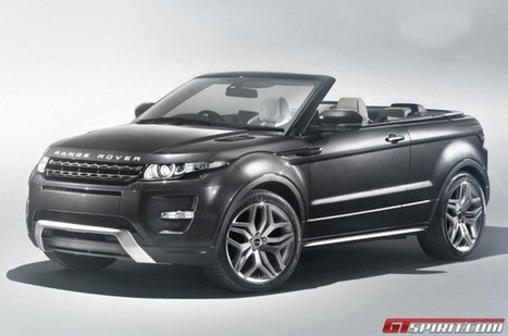 Report: Range Rover Evoque Convertible Heading to Production | RR Evoque | Scoop.it