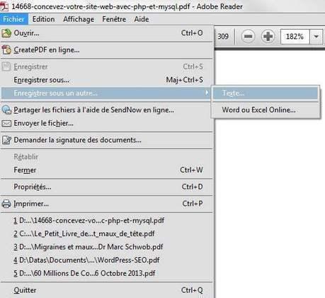 Comment récupérer tout le texte d'un fichier PDF | Les Infos de Ballajack | outils numériques pour la pédagogie | Scoop.it