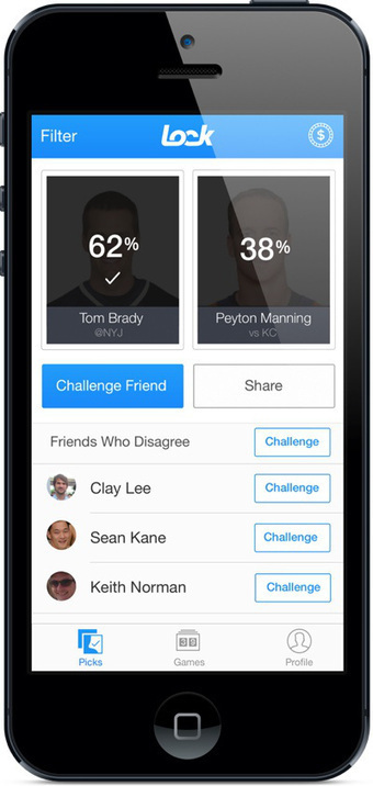 Don't have time for fantasy sports? Lock gives you a quick fantasy fix on your iPhone | Sports Entrepreneurship - Pugh - 4457779 | Scoop.it