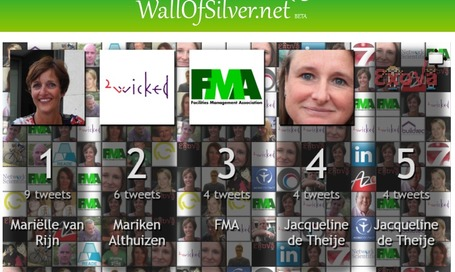 WallOfSilver.net - free Twitter wall solution | Visualisatie-tools leernetwerken | Scoop.it