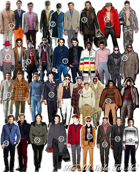 Men's Top 20: New York Fashion Week Fall/Winter 2012   Menswear NYFW   Scoop.it