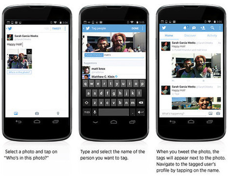 Twitter adds ability to post multiple photos, tag friends   SocialMedia_me   Scoop.it