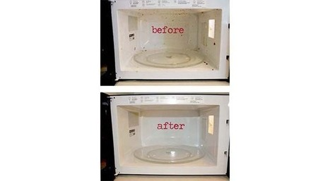 How To Clean and *SHINE* Your Microwave Without Cleaner! | One Good Thing by Jillee | personal care and sanitation | Scoop.it