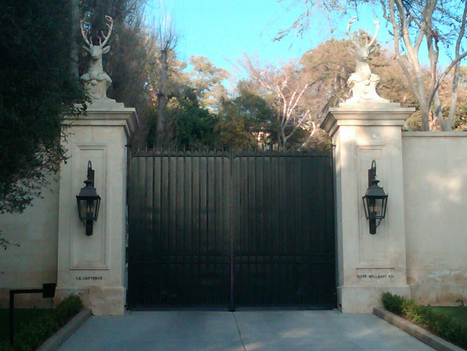 """The Keck Foundation * Elizabeth """"Libby"""" Keck * La Lanterne Mansion Estate Bellagio Road Bel Air Los Angeles """"A Reflection"""" Gerald Carroll Trust Affair 