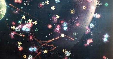 Starris – Space Invaders meetings Geometry Wars | WebGL Gaming | Scoop.it