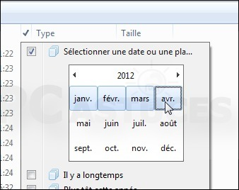 Afficher les fichiers modifiés pendant une période - Windows 7 | formation 2.0 | Scoop.it