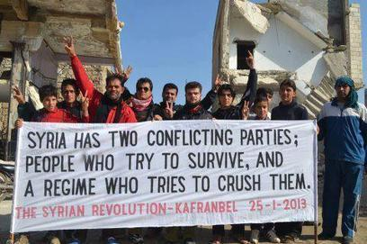 Jan26: #Syria 2 conflicting parties, people trying to survive and a regime trying to crush them | News from Syria | Scoop.it