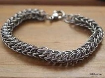 How to make Full Persian Chain Maille Pattern | DIY Chain Maille Tutorials | Scoop.it