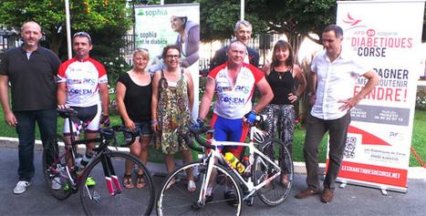 Le tour de Corse à vélo de Michel Rostin-Magnin diabétique et sportif | ADC | Scoop.it