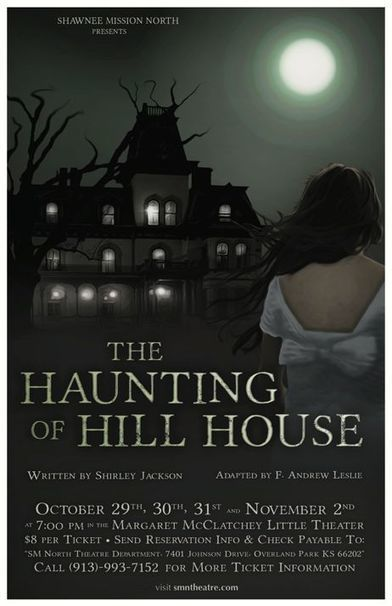 "SM North's ""The Haunting of Hill House"" opens Tuesday :: Prairie Village Post 
