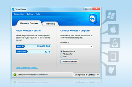 Solution for remote control, remote access, home office and TeamViewer features | Techy Stuff | Scoop.it