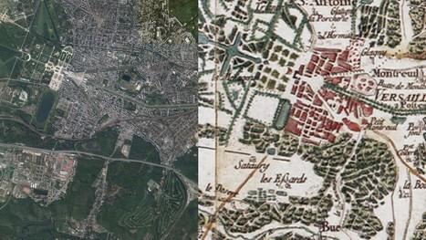 Cartographie: comment l'IGN vous fait voyager dans le temps | Topographie | Scoop.it
