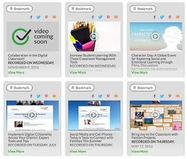A Treasure Trove of Free EdTech Webinars to Help You Integrate Technology and Digital Citizenship in Your Teaching | Дистанционная Школа | Scoop.it